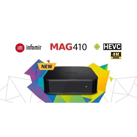 Infomir MAG410 Android IPTV