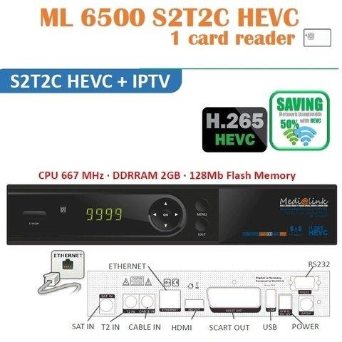 Medialink ML6500 S2T2C IPTV