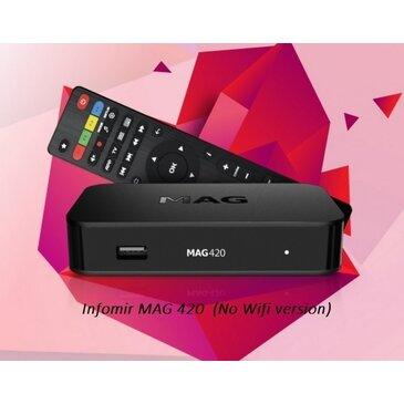 Infomir MAG420 4K IPTV