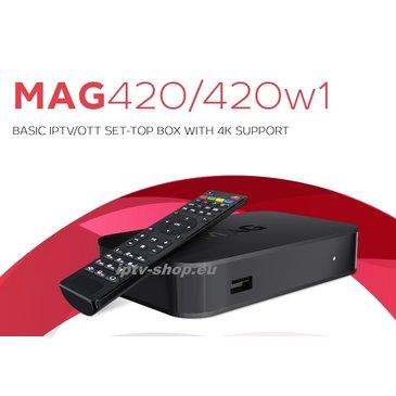 Infomir MAG420w1 4K IPTV